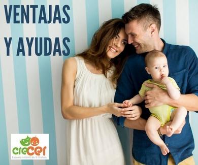 VENTAJAS Y AYUDAS DE LAS ESCUELAS INFANTILES PRIVADAS