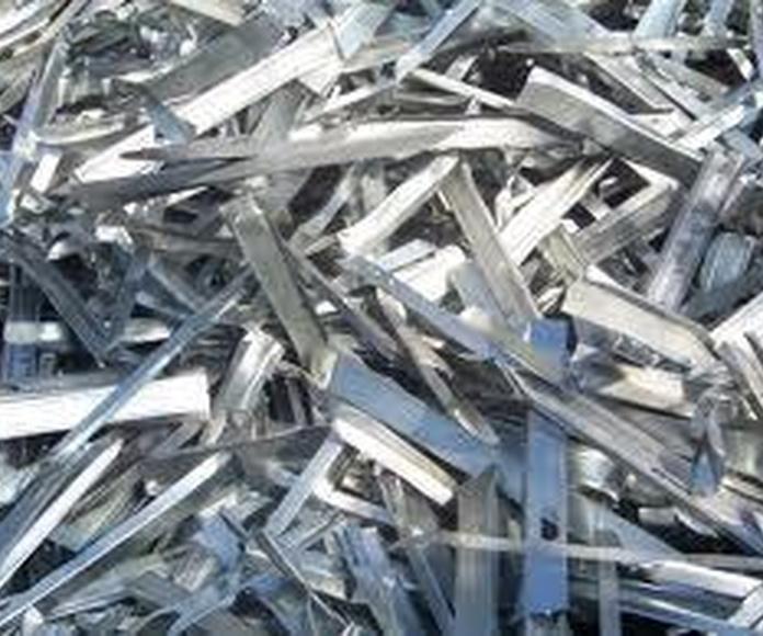 Compraventa de metales: Catálogo de Recuperaciones de Metales y Chatarras Pipón