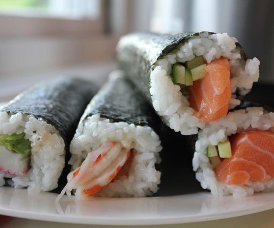 Los pescados más utilizados para preparar sushi