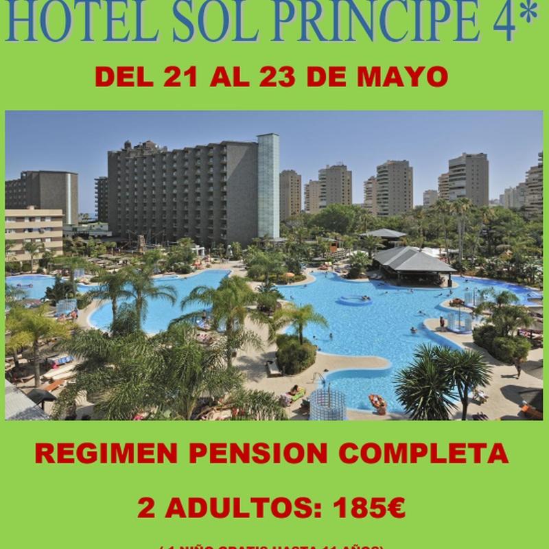 Hotel Sol Príncipe 4*: Ofertas de Viajes Global Sur