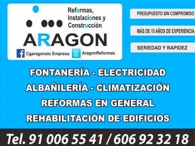 LEROY MERLIN  REFORMAS ARAGON TRABAJANDO JUNTOS