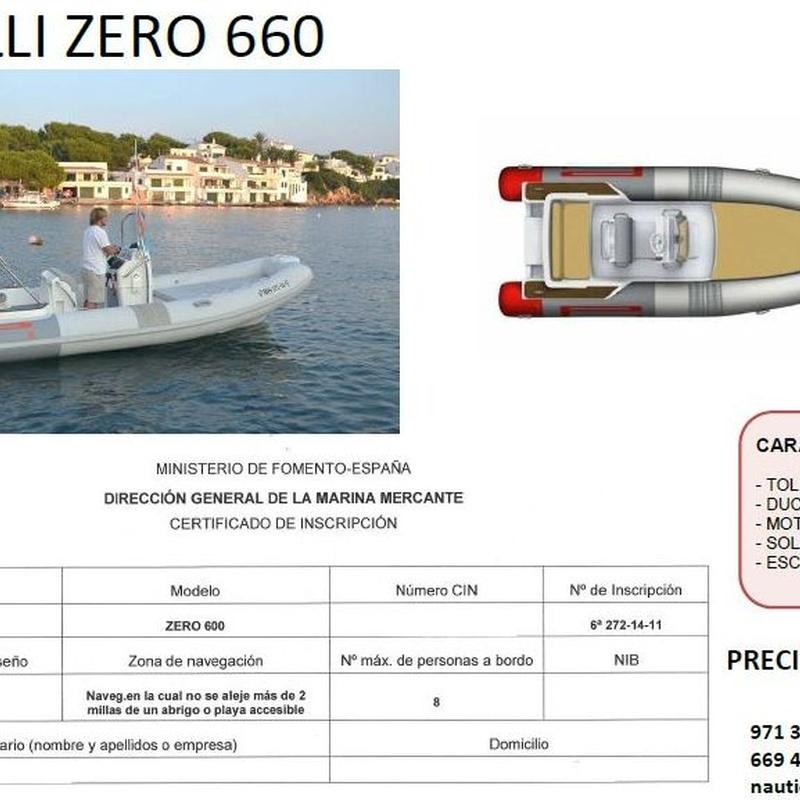 Pirelli 660 (EN VENTA): Productos y servicios de Náutica Puig