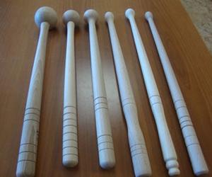 Palillos de tambor de madera