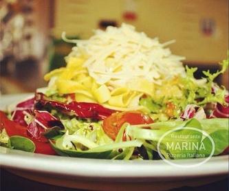 Menú de la casa: Productos de Restaurante Marina
