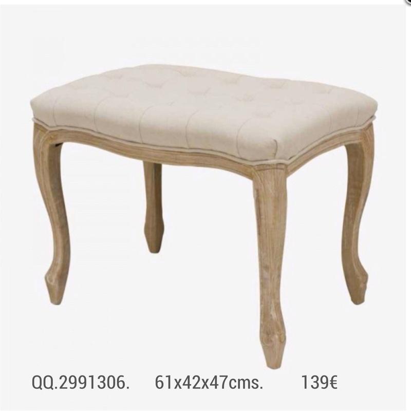 Banqueta QQ.2991306: Catálogo de Ste Odile Decoración