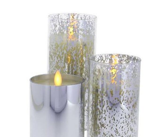 Velas de cristal.