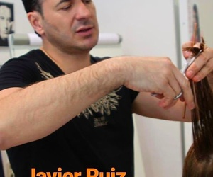 peluquero famoso Javier Ruiz