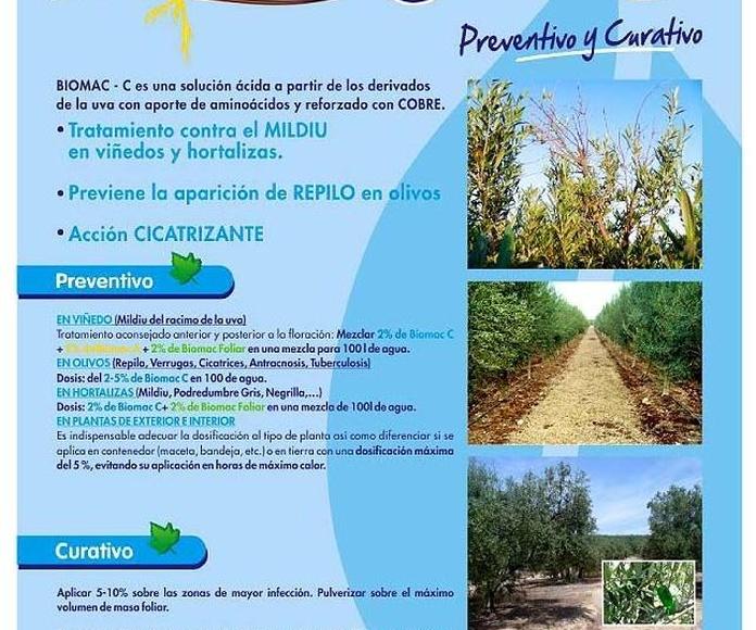BIOMAC C FITOSANITARIO ECOLOGICO ANTI-MILDIU: Catálogo de Emiliano y Federico Rubio