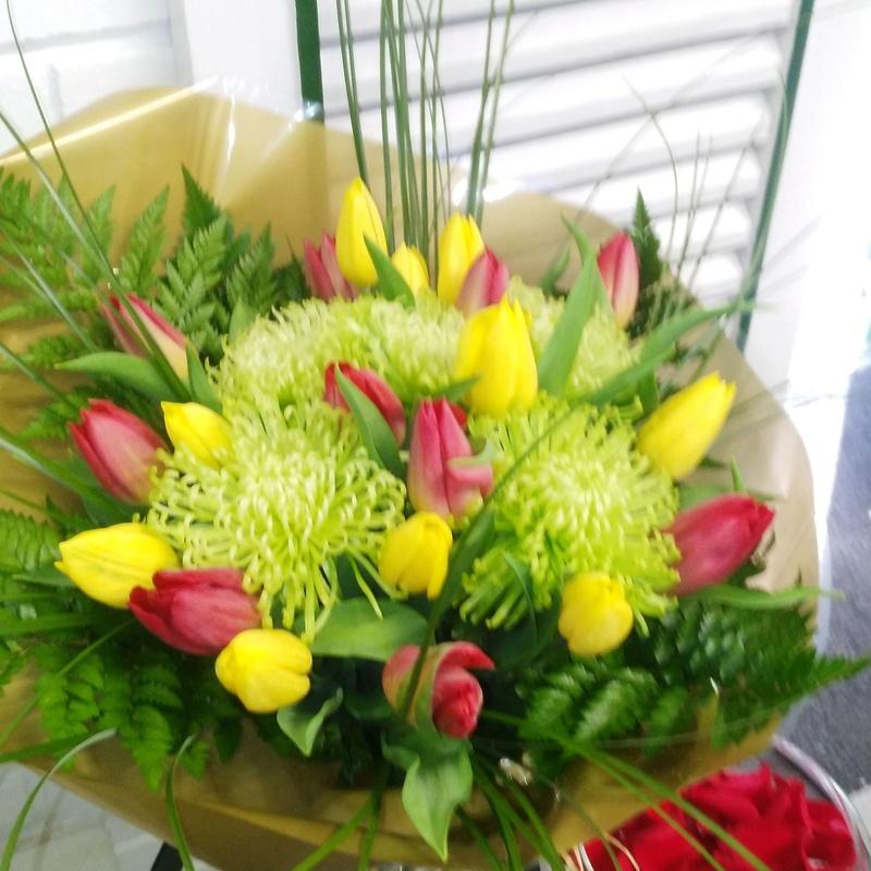 Tulipanes El Jardín de Churruca