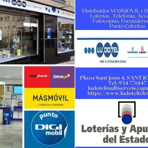 Telefonía fija y móvil en Sant Joan Despí | LUDOTEL MULTISERVEIS