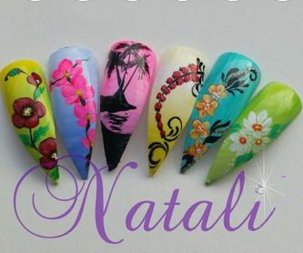Uña esculpidas en acrílico o gel: Productos y Servicios de Natali Nail