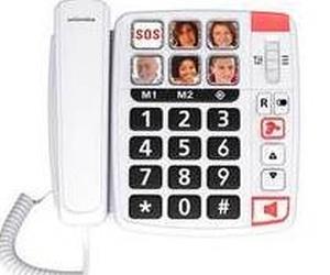 Teléfono amplificado con fotos