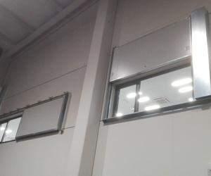 Puertas y ventanas cortafuegos corredizas y guillotinas en Santander