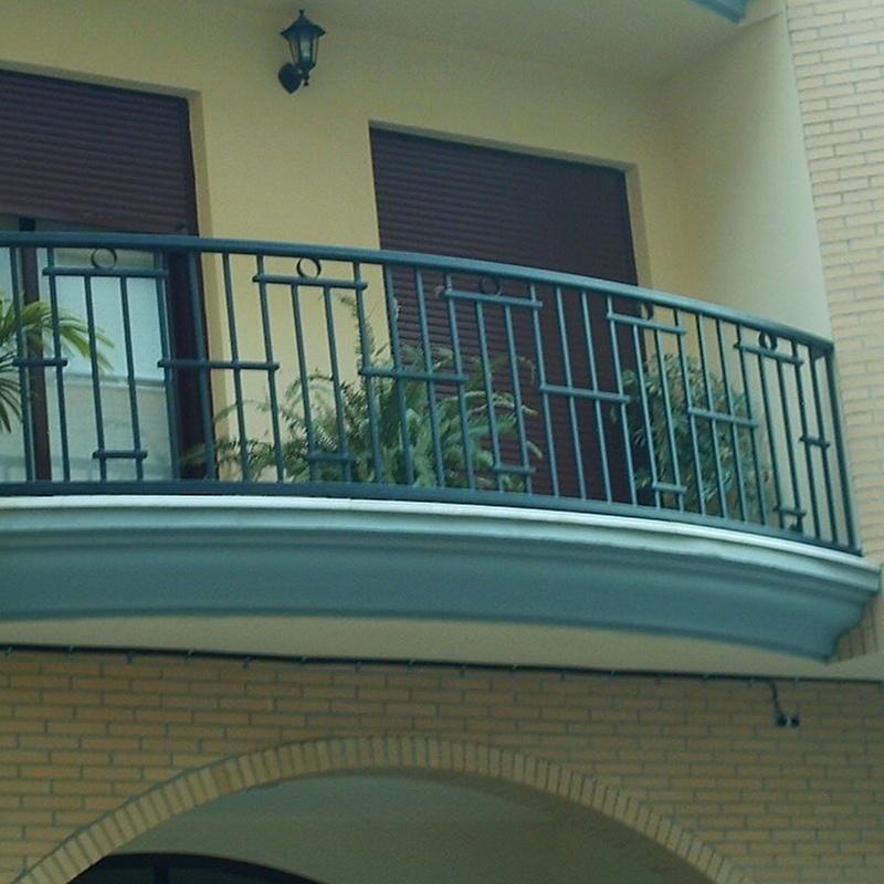 Balcones de hierro: Productos de Rovifer