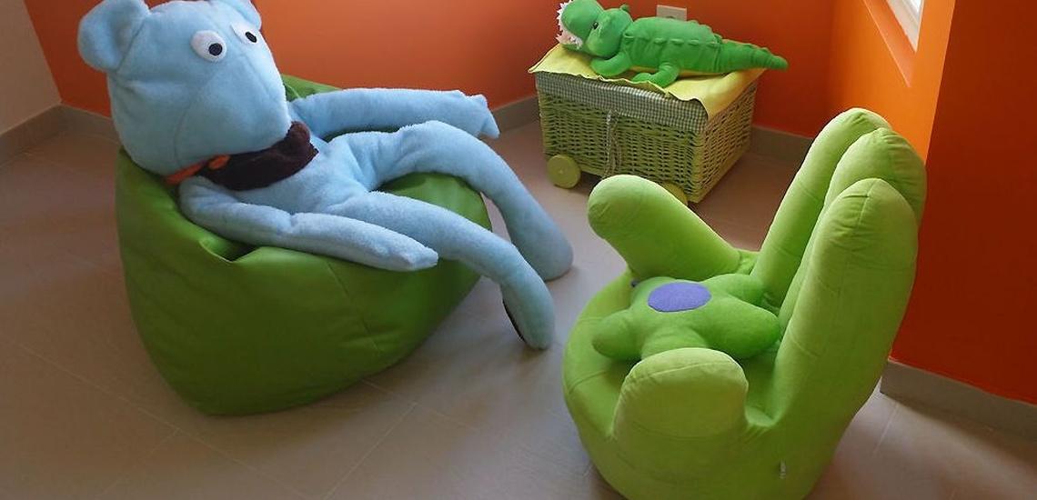 Sala de Psicoterapia infantil del Centro Hope en Las Rozas