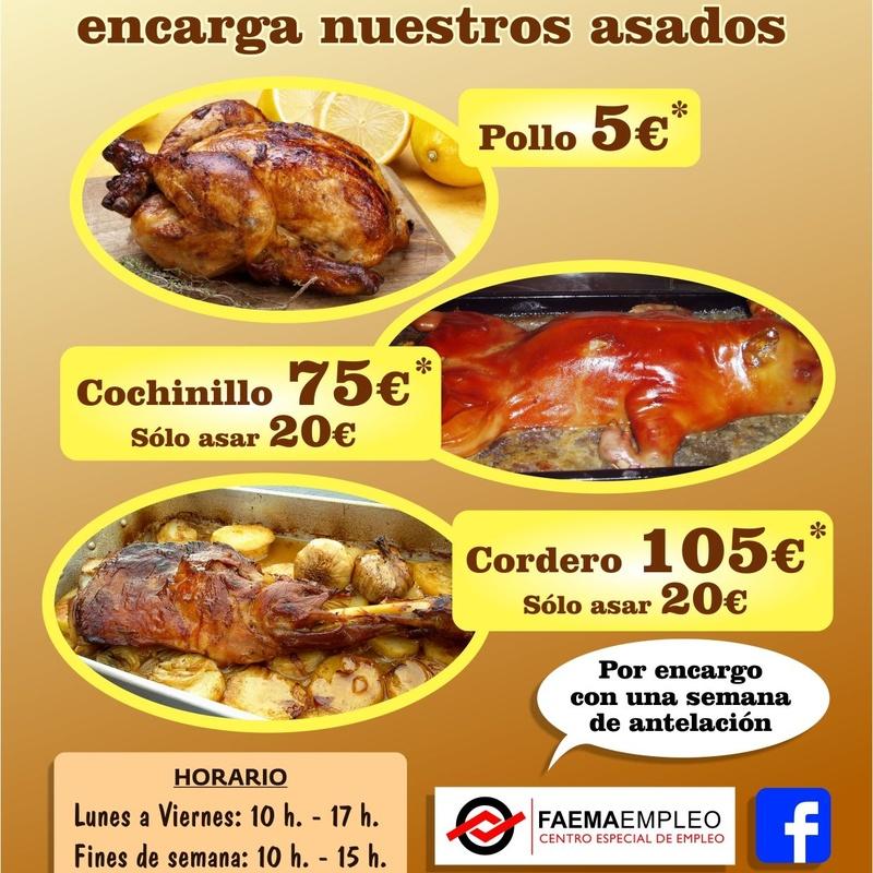 Catering asados: Amplia carta de Restaurante El Cobijo