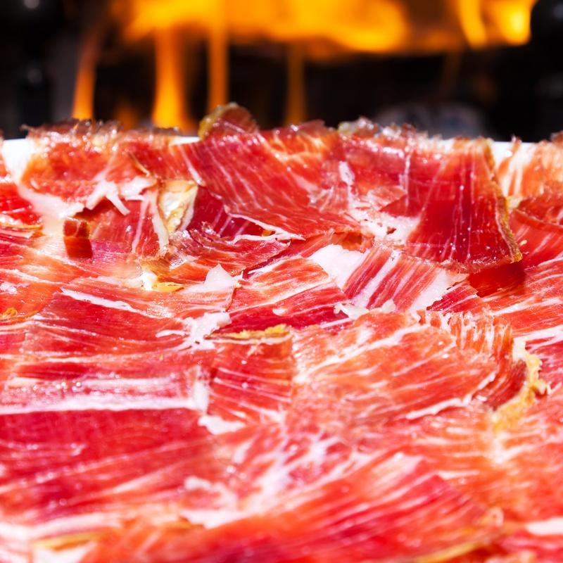 Jamón o lomo ibérico de bellota: Menús de Restaurante Terraza La Parrilla de Valdemoro