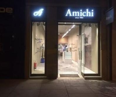 Rótulos y escaparates para AMICHI
