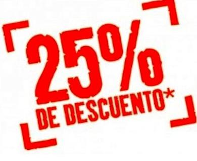 OFERTA HASTA 25% DESCUENTO EN  AIRE ACONDICIONADO *El descuento puede variar según modelo de equipo*