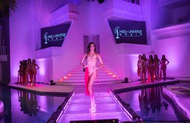 Escenario para certamen Miss Universo España 2020