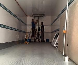 Venta, montaje y reparación de equipos de refrigeración del transprote