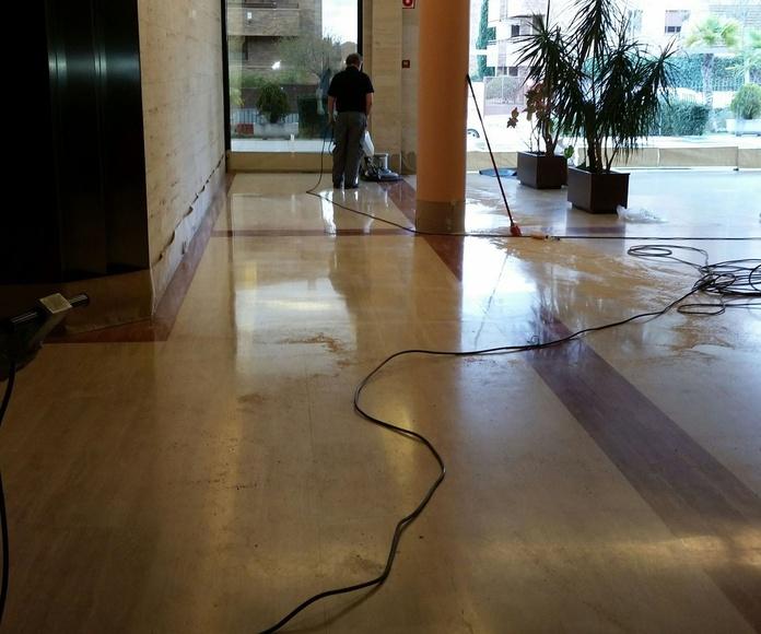 Pulido de suelos en Madrid Centro, Sol y Granvía