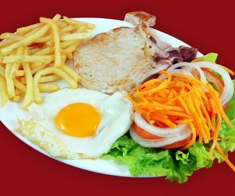 Bocadillos y hamburguesas: Catálogo de Restaurante Vanessa