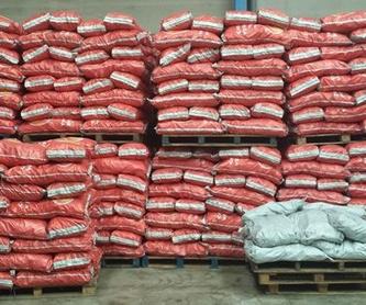 Leña: Productos de Carbón Vegetal Lantigua