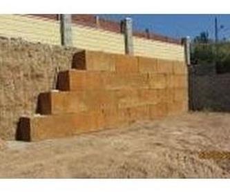 Muros de bloques tipo escollera: Servicios de Ecepa, S.L.