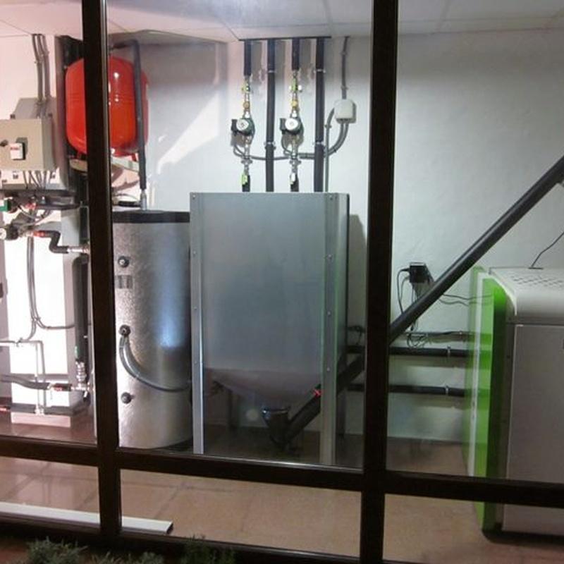 Calderas de pellet: Servicios de Suntex