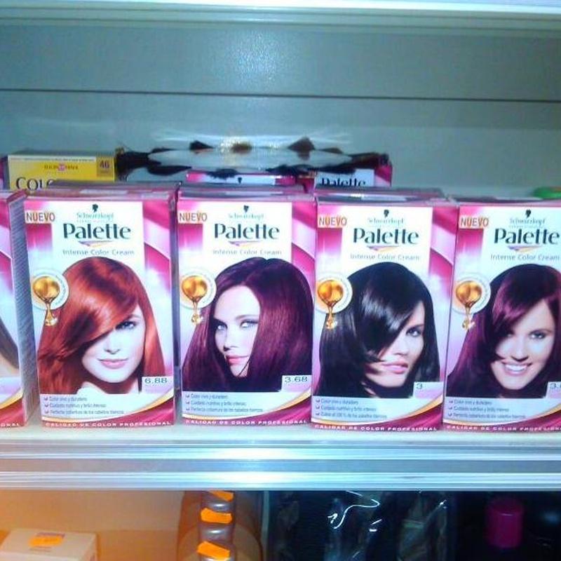 Tintes pelo: Productos de Droguería Blanca