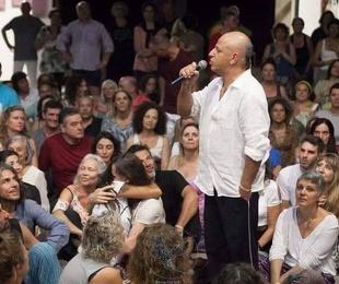 Augusto Madalena en el III Congreso Europeo de Biodanza, celebrado en Punta Humbría (España)