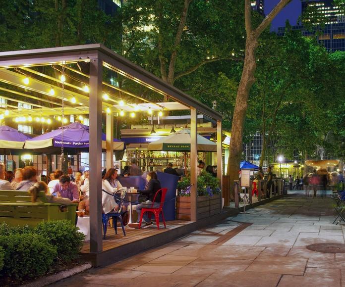 Marquesinas y terrazas para bares: Servicios de Aluminios Araya