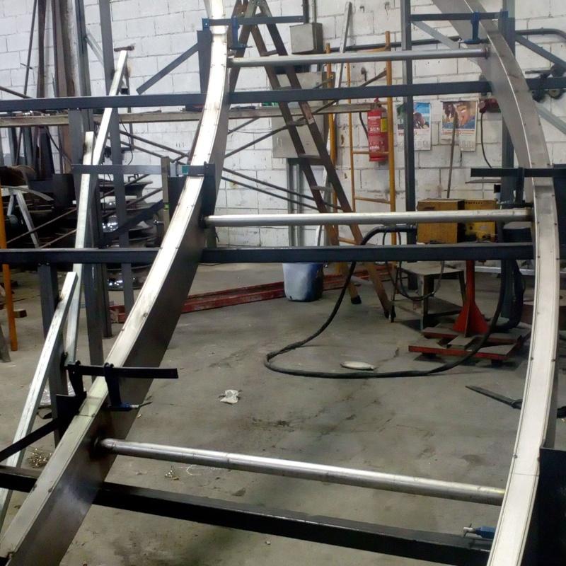 Fabricación Escalera Helicoidal