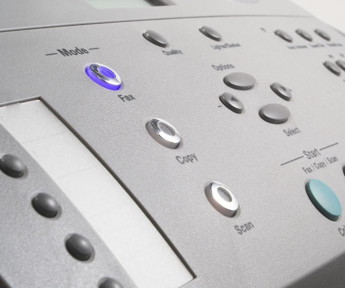 Equipos de impresión y fotocopiadoras: Servicios de Ofima Grupo Oficina S.L.