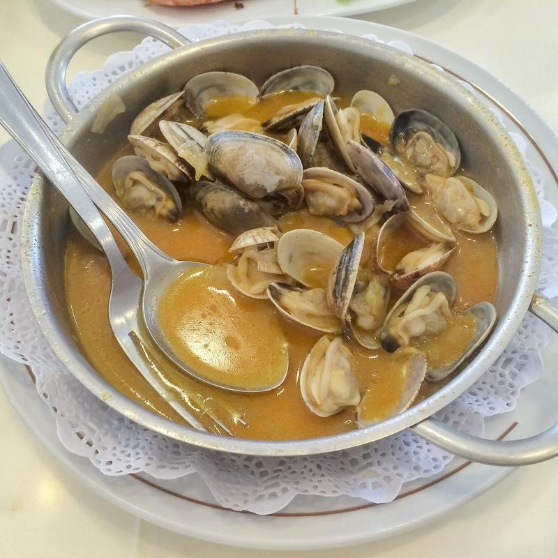 Mariscos gallegos: Carta de Restaurante Pepe Luis