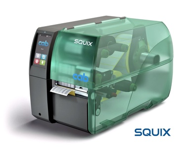 Nueva Impresora Industrial Cab SQUIX Label Printer