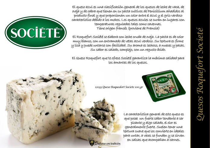"Quesos "" Roquefort Societe """
