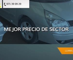 Aquiler de coches y furgonetas en IBIZA | Rent a Car Sant Jordi
