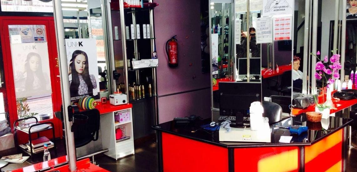 Centro de peluquería y belleza en Plaza Castilla, Madrid