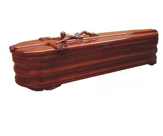 Arca semiredonda Modelo Imperio: Productos y servicios de Funeraria El Platero
