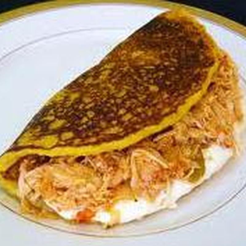 Cachapa de Mechada: Nuestra Carta de Happy Burger