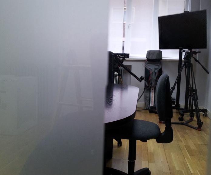 mampara oficina en vidrio CRISTALERA MADRILEÑA