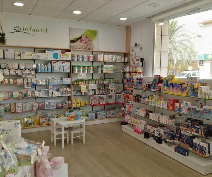 Alimentación Infantil: Servicios de Farmacia Montroy