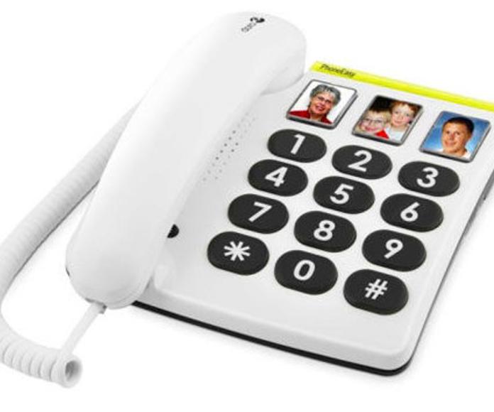 Teléfono fijo con teclas grandes Gijón