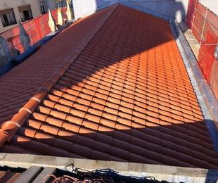 Reforma de tejado en Santander.