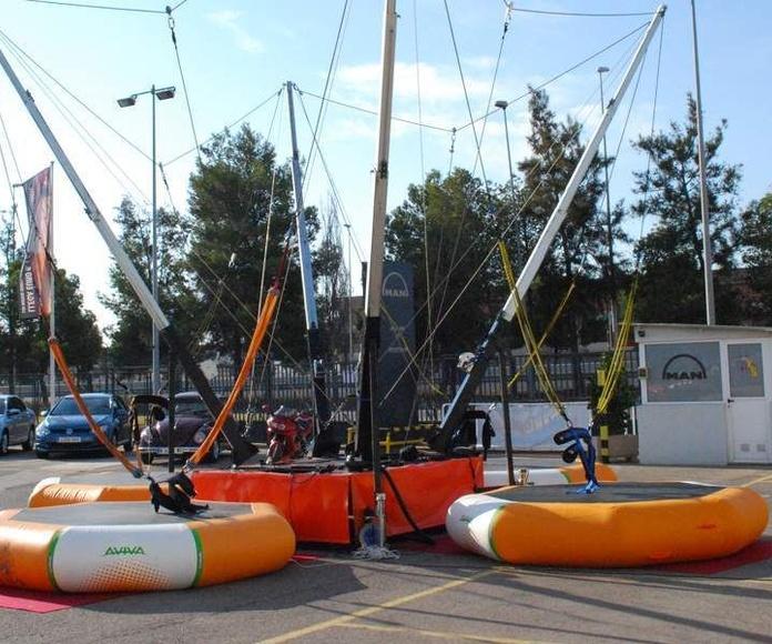 Venta de hinchables deportivos: Servicios de Chequeguay