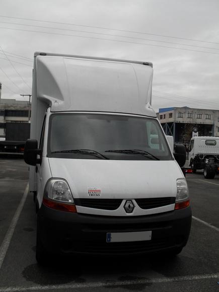 Alquiler furgón carrozado paquetero Asturias