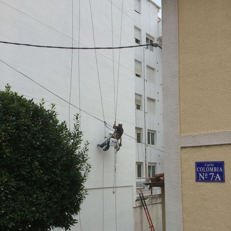 Trabajos verticales en Santander.