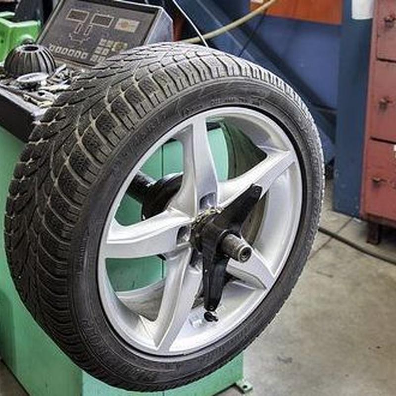 Neumáticos: Servicios de Talleres Molisan